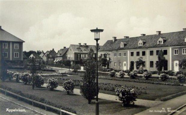 Före stockholms undergång  Äppelviken,_Bromma_(postcard)