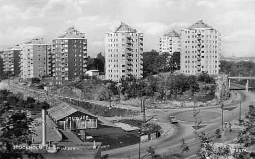Före stockholms undergång Danviksklippan_1956