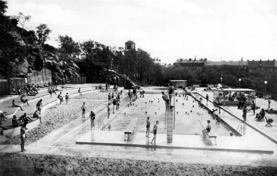 Före stockholms undergång  Vanadisbadet_ca_1940