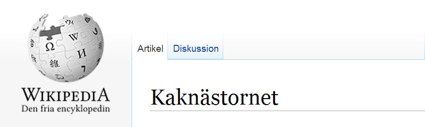 Kaknästornet stockholms undergång