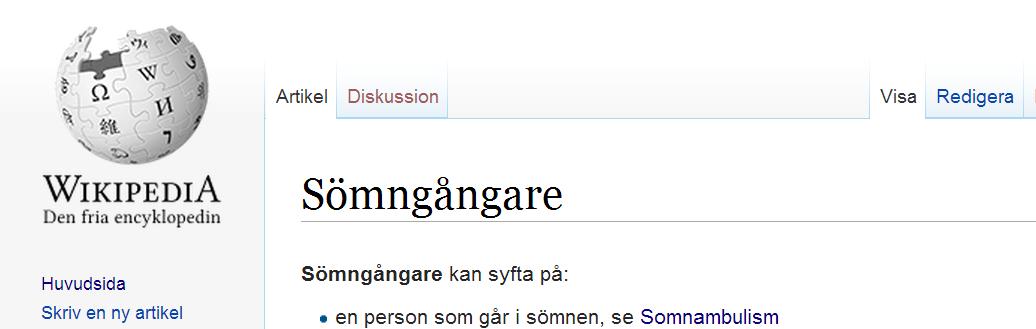 Sömngångare Stockholms undergång banner