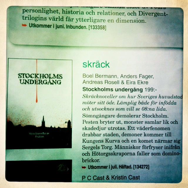 stockholms undergång fruktan novellsamling 2014